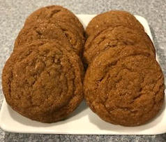 Order these ginger molasses cookies