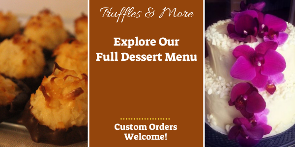 Click to explore our Seattle dessert delivery menu